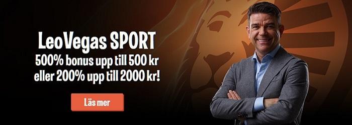 Bra oddsbonusar till Fotbolls VM hos LeoVegas Sport