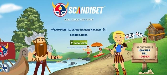 Scandibet sportbonus och villkor för nya spelare