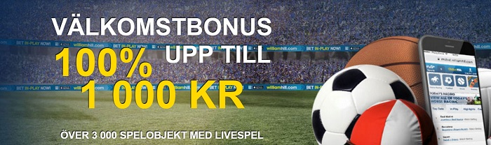 William Hill sportbonus