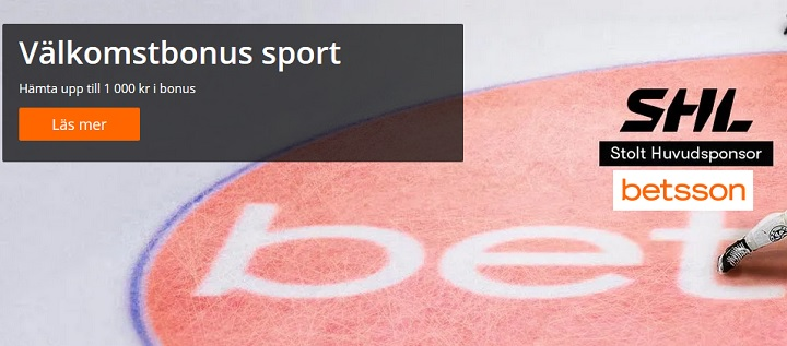 Betsson sportbonus