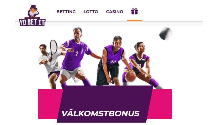 Yobetit - Spelbolaget med Sport, Lotto och Casino