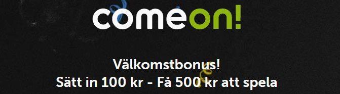 Comeon Sportbonus